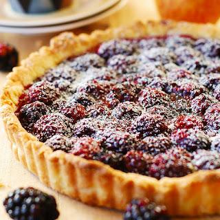 Blackberry Tart.