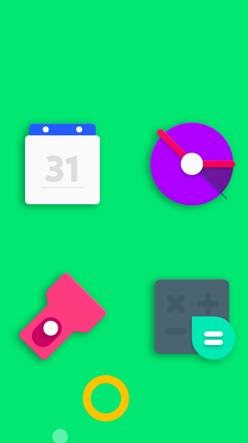 Frozy / Material Design Icon Pack Screenshot 4