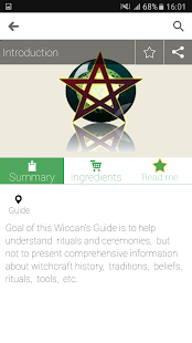 e Wicca:Wiccan & witchcraft ap- screenshot thumbnail