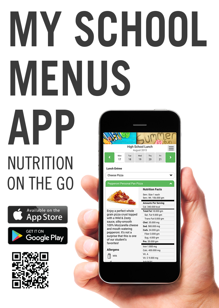 Mobile app for school meals