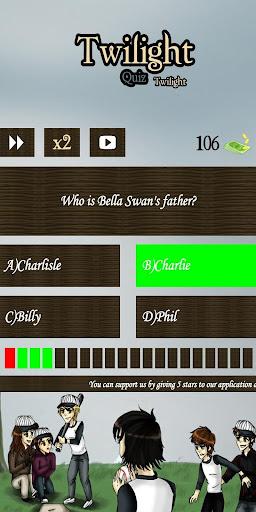Twilight Series Quiz screenshots 5