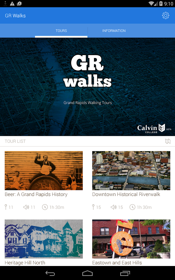 GR Walks- screenshot