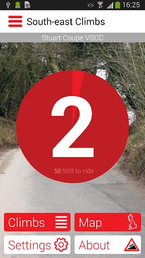 Cycling Climbs of South-east England  screenshots 1