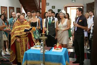 Photo: Църковна церемония в село Падина, близо до Варна