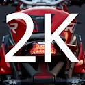2K Superbike live wallpaper hd icon