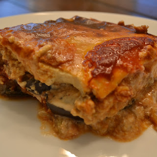 Vegetarian Moussaka.