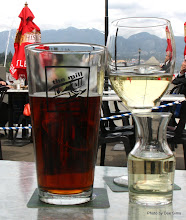 Photo: (Year 2) Day 324 - Having a Drink With the Mountains in the Background