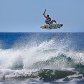 Big Air by Trevor Murphy - Sports & Fitness Surfing ( surfing, barrels, tmurphyphotography, randy townsend, costa rica, places )