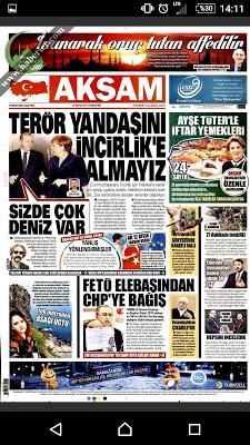 Gazete Manşet - screenshot