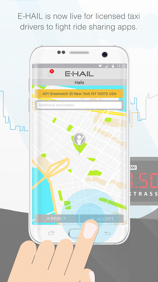 E-HAIL DRIVER- screenshot