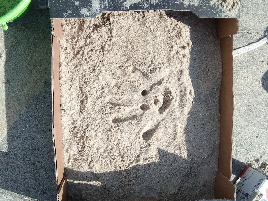 Kunst met zand
