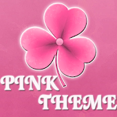 Theme Pink GO Launcher EX