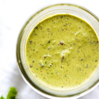 Vegan Green Goddess Dressing Recipe {Paleo Friendly}.
