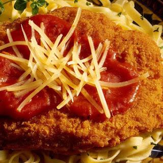 Classic Veal Parmesan.