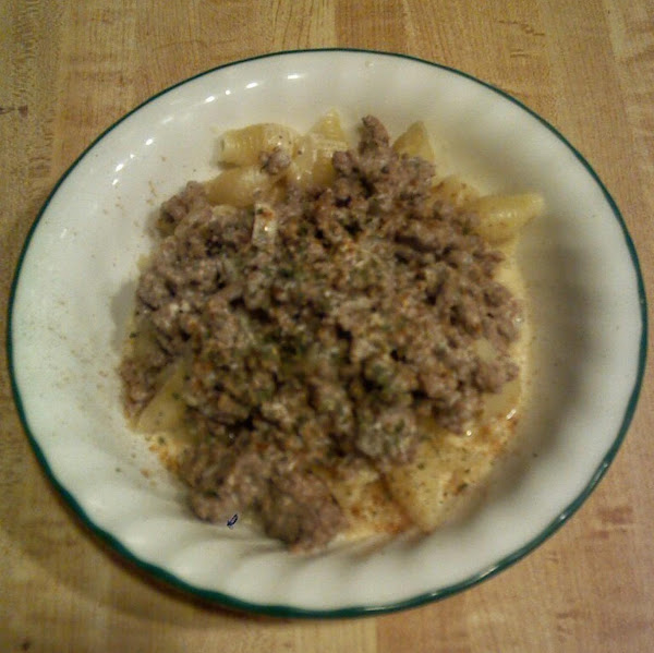 Creamy Ground Turkey Stroganoff Recipe