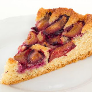 Easy German Plum Cake Using Italian Plums