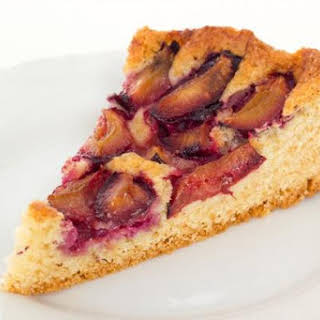 Easy German Plum Cake Using Italian Plums.
