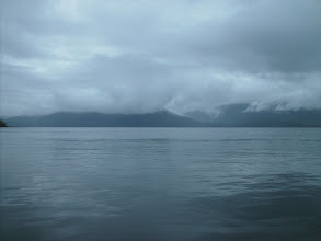Photo: Looking out across Finlayson Channel.