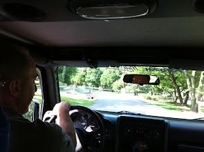 Photo: Scott Pulley's Jeep Tour of Famous Homes around Old Hickory Lake in Hendersonville, TN...his home town.