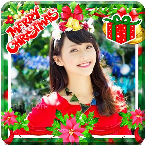 Christmas Photo Frame Collage