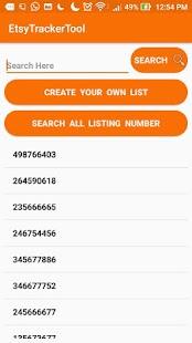 Etsy Tracker Tool - náhled