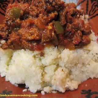 Caveman Chili and Rice Recipe