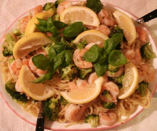 Oops, He Forgot The Parmesan When This Pic Was Taken.  Lol  But Be Sure To Add It When You Make This Recipe!