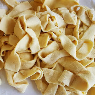 Lagane pasta from Southern Italy.