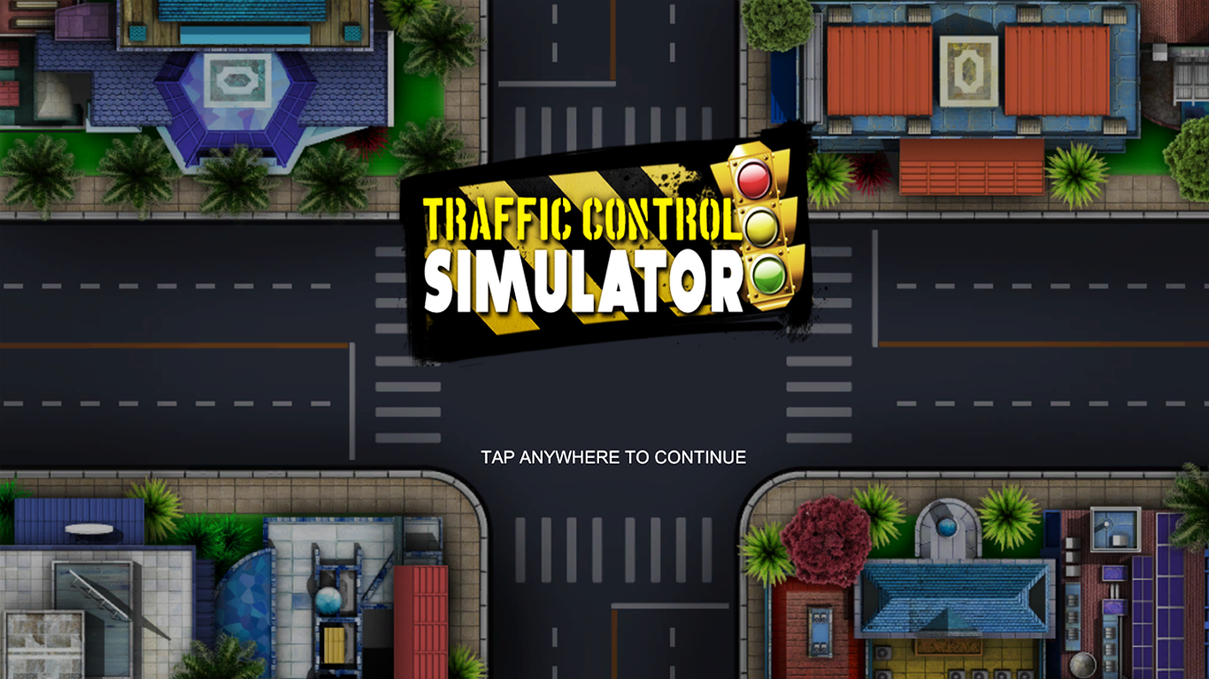 Traffic Control Simulator- screenshot