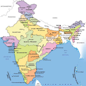 India Map with Capitals
