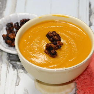 Creamy Butternut Squash, Carrot, and Lentil Soup Recipe