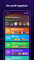 screenshot of Amino: Communities and Chats