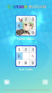 Sudoku : Cartoon Screenshot