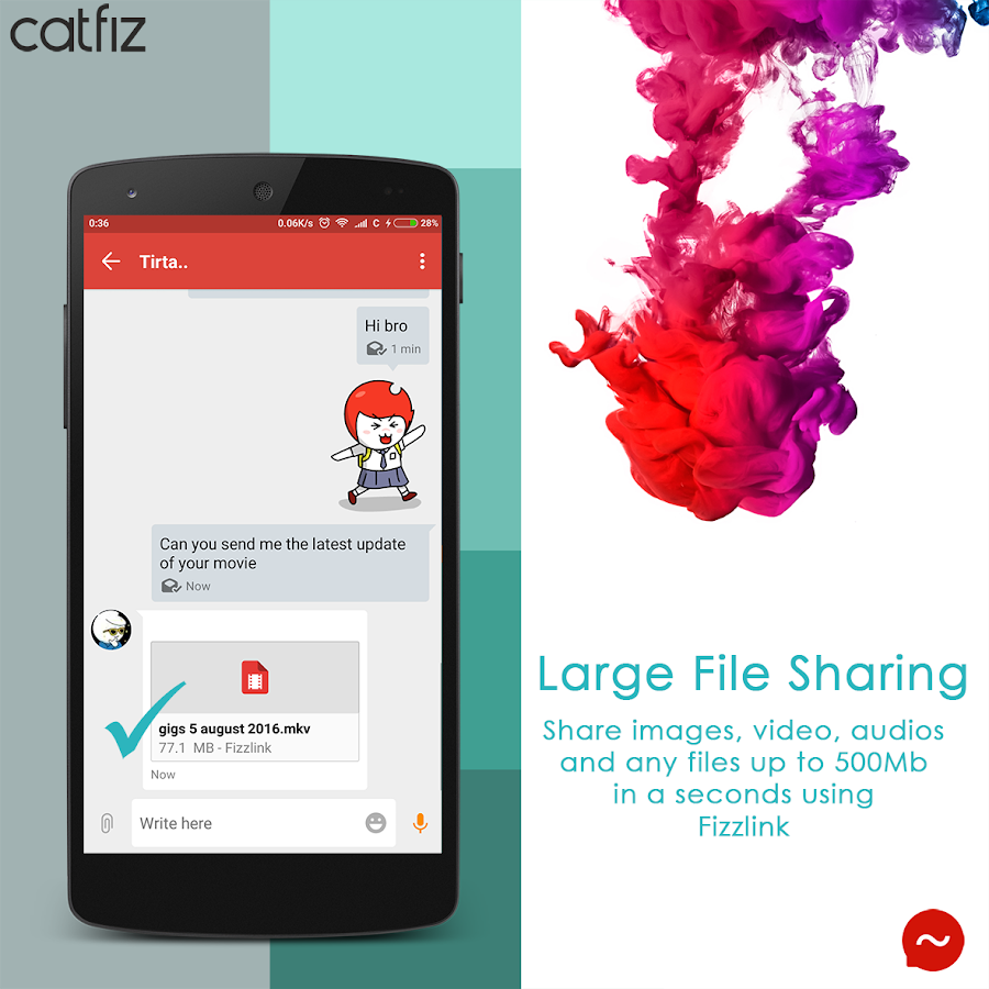 Catfiz Messenger- screenshot