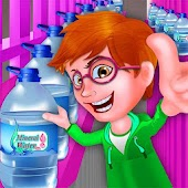 Mineral Water Factory Game for kids