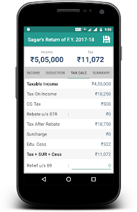 Income Tax Calculator App Download For Android and iPhone 5