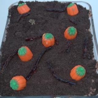 Halloween Chocolate Pudding