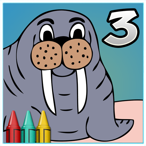 Coloring Book 3 Animals Applications Sur Google Play