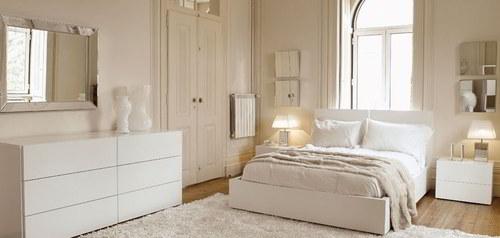 decorar habitación - pintar dormitorio de blanco
