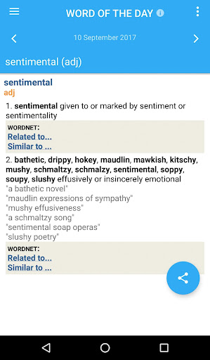 Advanced English and Thesaurus screenshot 5
