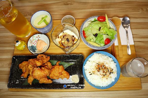 日一食堂:日式定食專賣,餐點繽紛又豐富