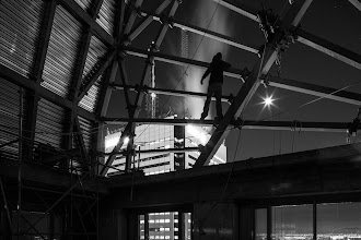 Photo: Climbing Shit When there's shit to be climbed, someone's gonna find a way to climb it.  #rooftopping #urbex #urbanexploration #climbingshit #longexposure