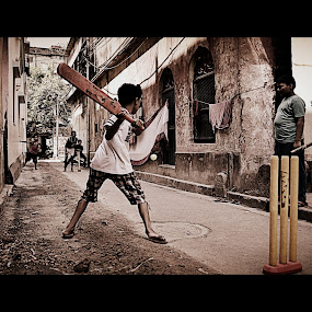 goli cricket by Sandip Ghose - News & Events World Events ( the life in kolkata )