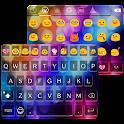 Multicolor Emoji Keyboard Skin icon