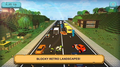 Traffic Craft: Asphalt Highway Racing & Driving 1.1 screenshots 2