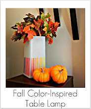 Photo: http://www.madincrafts.com/2011/11/fall-inspired-ombre-ikea-lamp.html