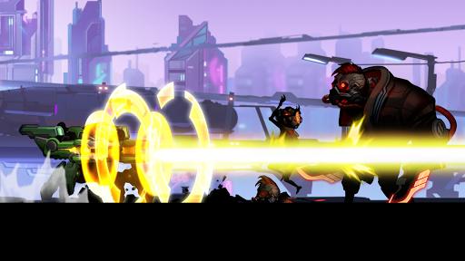 Cyber Fighters: Shadow Legends in Cyberpunk City apkmr screenshots 3
