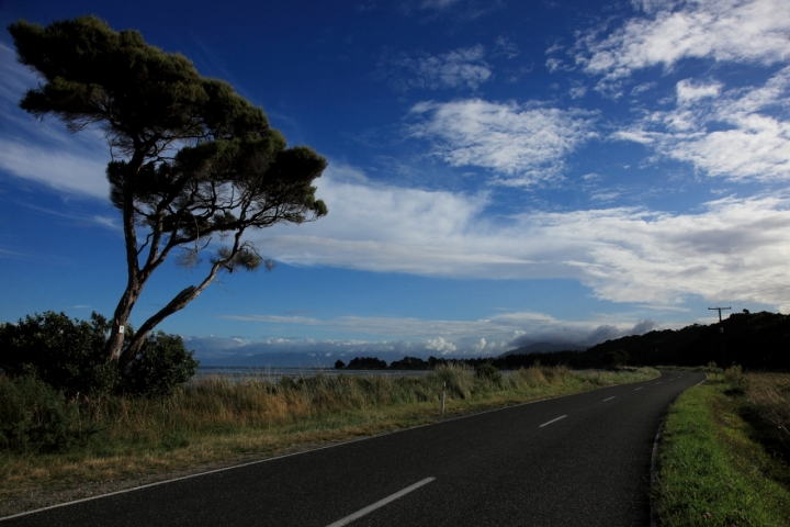 Strada panoramica di daviderm