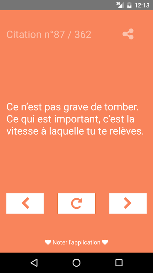 citation de motivation android apps on google play. Black Bedroom Furniture Sets. Home Design Ideas