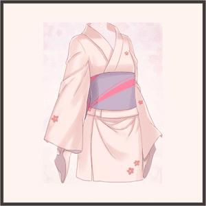 普通の浴衣